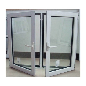 Modern house style swing opening casement window