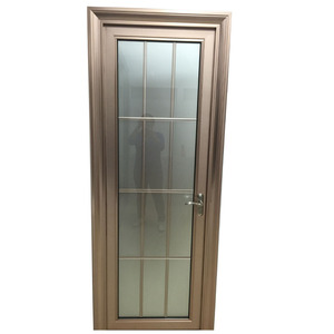 Aluminium profile toilet glass door Chinese supplier