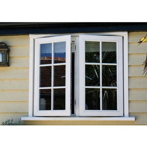 Modern house style swing inward opening casement window