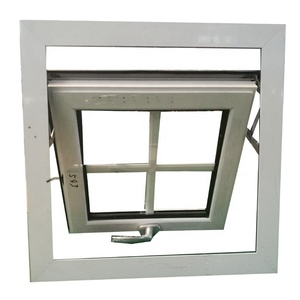 Small awning double glazed aluminium windows