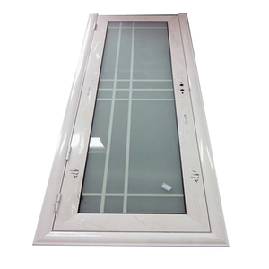 Aluminium profile frosted glass bathroom door