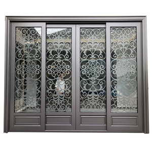 High quality luxury design automaticaluminum heavy sliding doors manufacturer