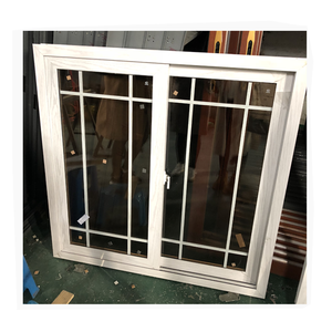 Residential style modern house new aluminum product window supplier