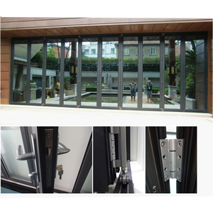 2019 Lasted design aluminum folding doors China supplier