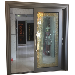 Australian standard luxury design tempered glass sliding door